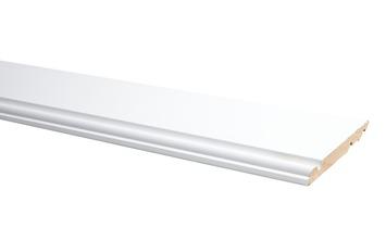 Plint Model Engels Wit 120x14mm 240cm