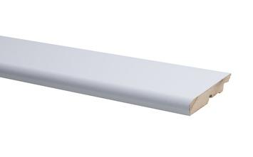 Plinthe arrondie blanc 75x14 mm 240 cm