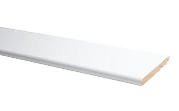 Plint Model Rond Hoogglans Wit 120x14mm 240cm