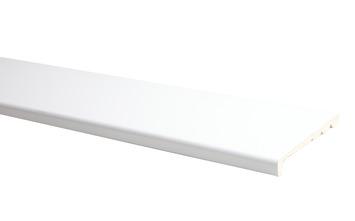 Plinthe de recouvrement uni blanc 130x26 mm 240 cm