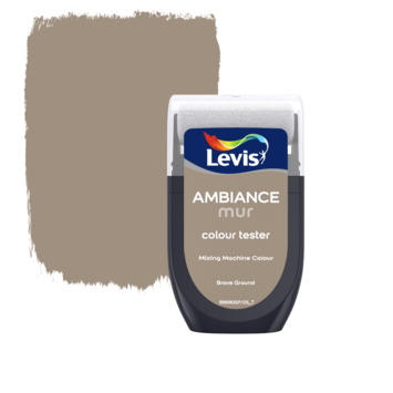 Levis Ambiance muurverf kleurtester mat Brave Ground 30 ml