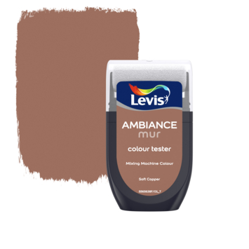 Levis Ambiance muurverf kleurtester mat soft copper 30 ml