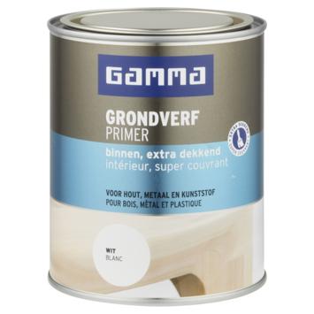 GAMMA extra dekkende grondverf voor binnen 750 ml wit