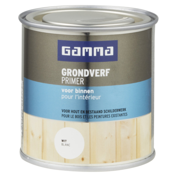 GAMMA primer voor binnen 250 ml wit