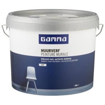 GAMMA muurverf mat 10 L RAL 9001