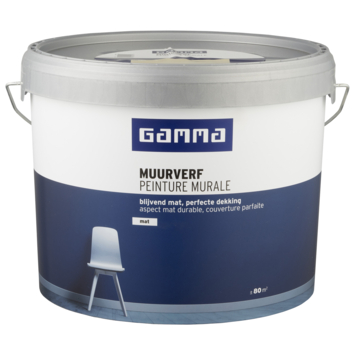 GAMMA muurverf mat 10 L spelt