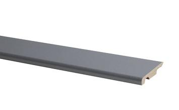 Plint Model MDF Zilver Grijs 10x58mm 240cm