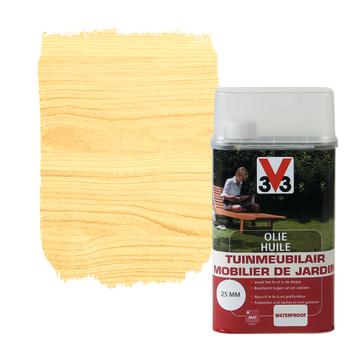V33 tuinmeubelolie mat kleurloos 1 L