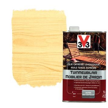 V33 tuinmeubelolie extreme levensduur mat kleurloos 1 L