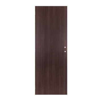 Solid binnendeur Senza Classico honingraat antraciet eik verticaal 201,5x68 cm