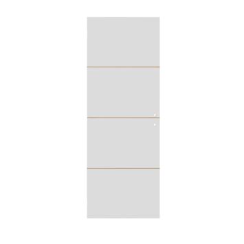 Solid Portixx binnendeur Linée P002 honingraat wit 201,5x73 cm