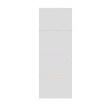 Solid Portixx binnendeur Linée P002 honingraat wit 201,5x83 cm