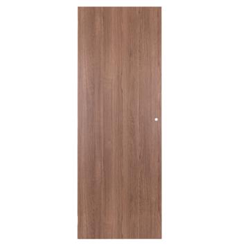 Solid binnendeur Senza Classico honingraat grijze eik verticaal 201,5x73 cm