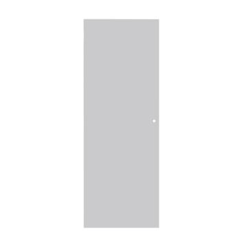 Solid binnendeur Colore P000 tubespaan wit 201,5x78 cm