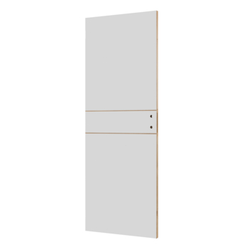 Solid Portixx binnendeur Linée P001 honingraat wit 201,5x78 cm