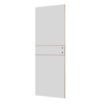 Solid binnendeur Linée P001 honingraat wit 201,5x83 cm