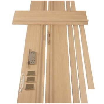 Solid deurkassement multiplex/eik fineer 201,5x25x1,8 cm