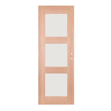Solid Portixx binnendeur Spirit M25 massief hout met mat glas 201,5x73 cm
