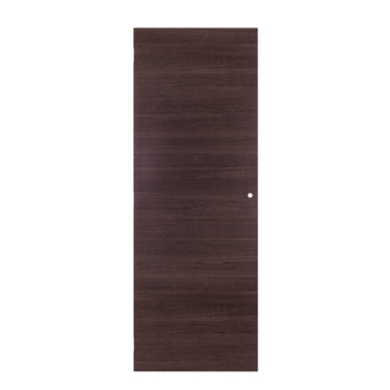 Solid binnendeur Senza Classico antraciet eik horizontaal 201,5x83 cm