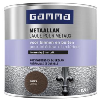 GAMMA metaallak hamerslag 250 ml koper