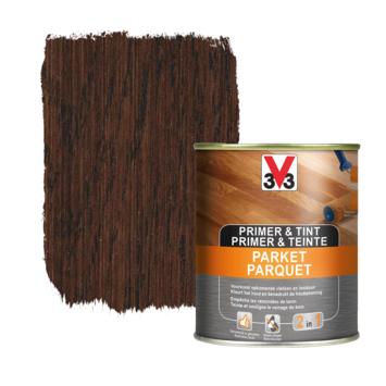 V33 primer & tint parket donker eik 0,75 L