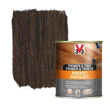 V33 primer & tint parket wenge 0,75 L