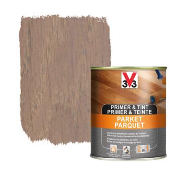 V33 primer & tint parket patina grijs 0,75 L