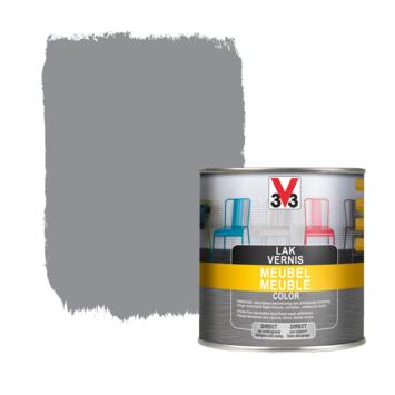 V33 meubel lak color lichtgrijs zijdeglans 0,5L