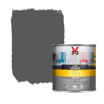 V33 meubel lak color middegrijs zijdeglans 0,5L