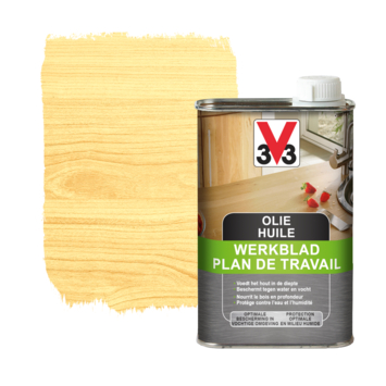 V33 werkbladolie mat naturel 0,5L