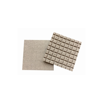 Rubbertegel zand 50x50x2,5cm