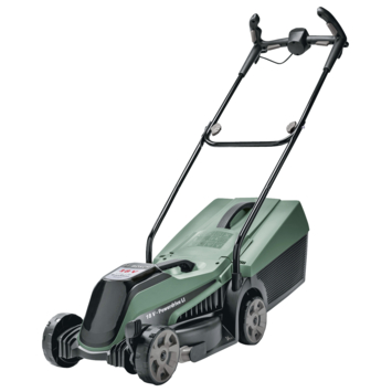Bosch grasmaaier op accu CityMower 18-300 4,0Ah met gratis tweede reservemes