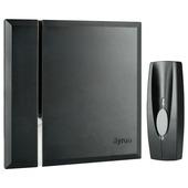 Sonnette de porte sans fil avec bouton Byron BY401B noir