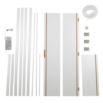 Solid Portixx deurkassement Senza Classico MDF premium white 201,5x40x1,5 cm