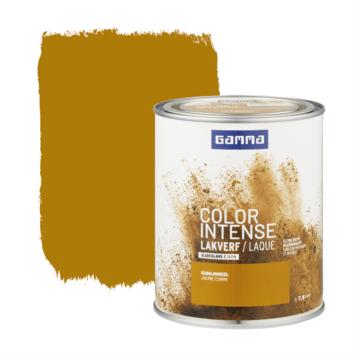GAMMA color intense binnenlak zijdeglans 750 ml komijn geel