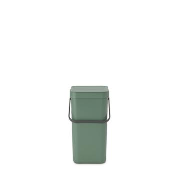 Brabantia vuilnisbak Sort&Go groen 12 L