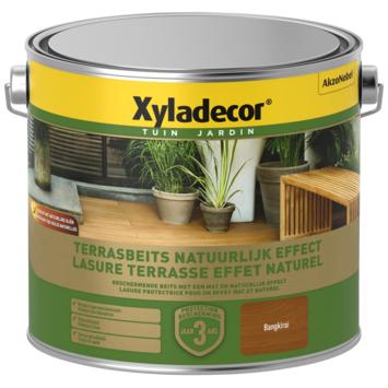 Xyladecor terrasbeits natuurlijk effect bangkirai 2,5L