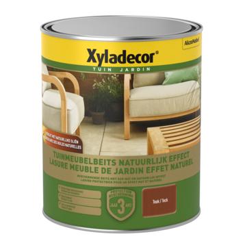 Xyladecor tuinmeubelbeits natuurlijk effect teak 750 ml