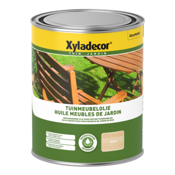 Xyladecor tuinmeubelolie naturel 1 L