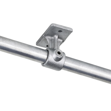 Support balustrade pour tube Ø 27 mm