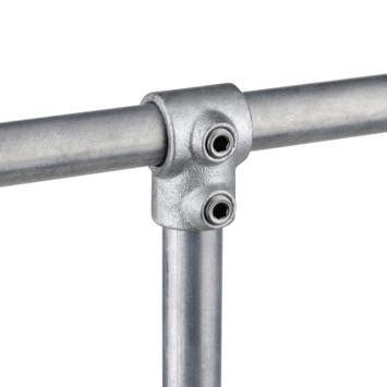 Pièce en T court pour tube  Ø 42 mm fer