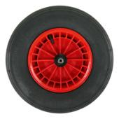 Roue pour brouette Altrad Fort 40x10 cm rouge