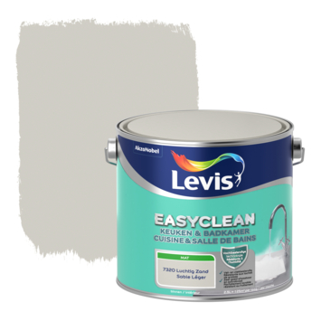 Levis EasyClean keuken & badkamer luchtig zand 2.5l
