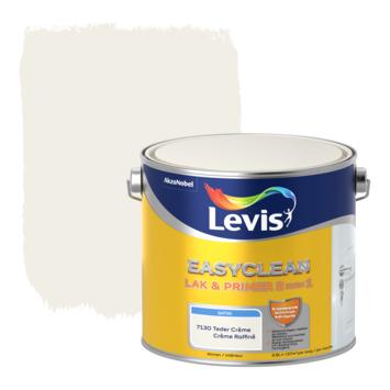 Levis EasyClean lak & primer 2 in 1 satijn teder crème 2,5l