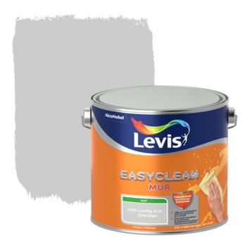 Levis EasyClean muur mat luchtgrijs 2.5l