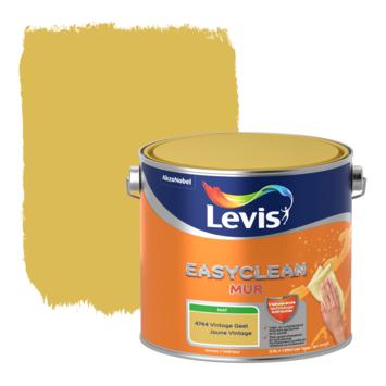 Levis EasyClean muur mat vintage geel 2.5l
