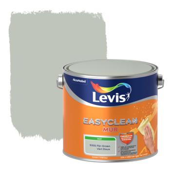Levis EasyClean muur mat fijn groen 2.5l