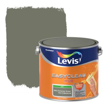 Levis EasyClean muur mat schemer groen 2.5l
