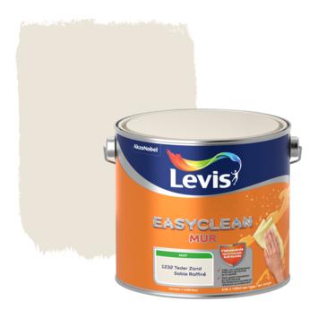 Levis EasyClean muur mat teder zand 2.5l