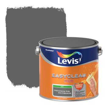 Levis EasyClean muur mat schemer grijs 2.5l